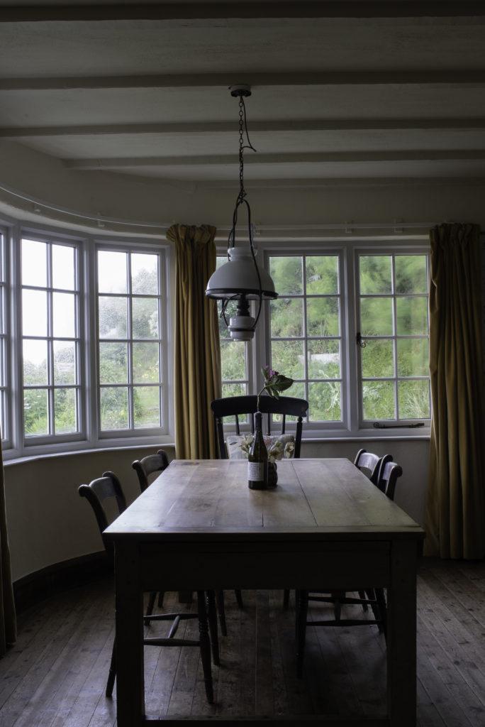 dining room cottage crackington haven