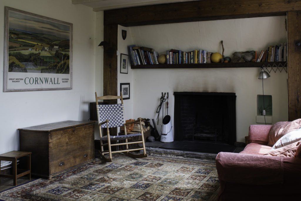 open fire cottage cornwall crackington haven